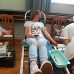 Alenka daje krv prvi puta