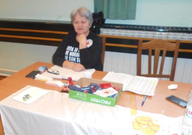 Silvana Janeš, aktivistica Crvenog križa Delnice, dobrovoljni darivatelj krvi